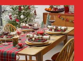 Коледни покривки и салфетки