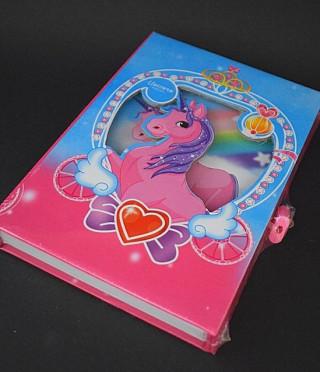 Таен дневник в кутия Еднорог с катинарче