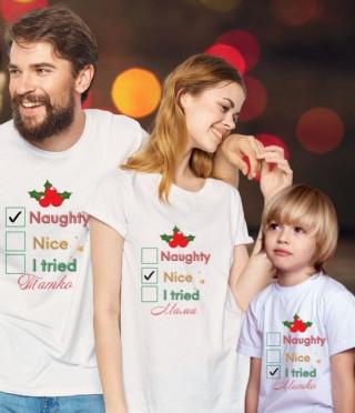 Персонализирана тениска за вашата семейна Коледа