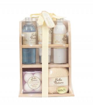 Козметичен комплект с аромат на розмарин, лавандула и маслина