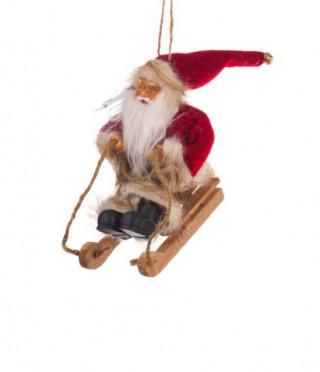 Фигурка Дядо Коледа 13см.