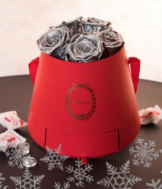 Подаръчна кутия за дамите Red & Silver