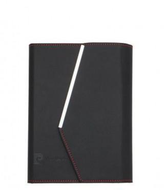 Елегантен комплект черен тефтер с химикал PIERRE CARDIN