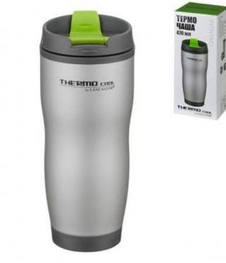 Термо чаша със зелено