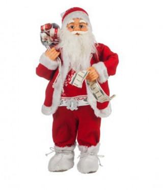 Дядо Коледа Червен  61 см