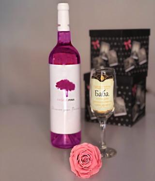 Подарък за баба Розова пролет