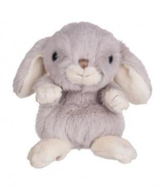 Плюшена играчка сив заек