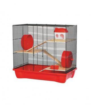 Клетка за дребни гризачи HAMSTER 12; на 3 етажа