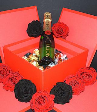 Подаръчна кутия Червена страст