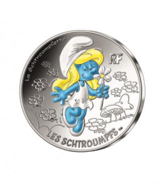Сребърна монета Смърфиета