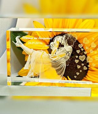Кристален плакет 2D
