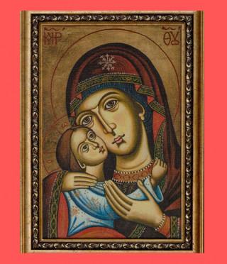 Репродукция на икона Света Богородица с Младенеца
