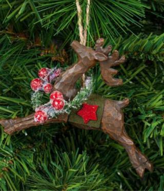 Висулка Коледен елен