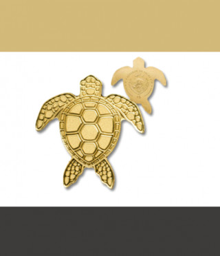 Златна монета Костенурка