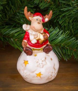 Коледен свещник еленче
