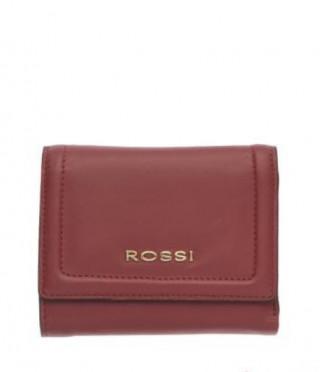 Дамско портмоне във винено червено - ROSSI