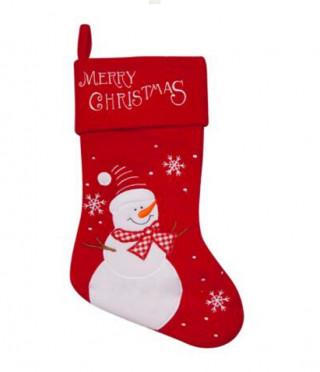 Текстилен Коледен чорап