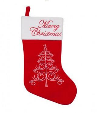 Коледен чорап филц