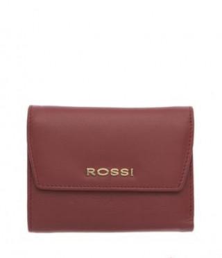 Дамски портфейл във винено червено - ROSSI