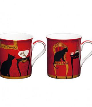 Котки к-кт 2 чаши мъг