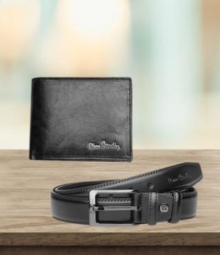 Луксозен сет от колан и портфейл - PIERRE CARDIN - 135 см