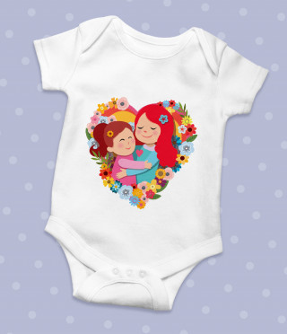 Бебешко боди Майка и дъщеря