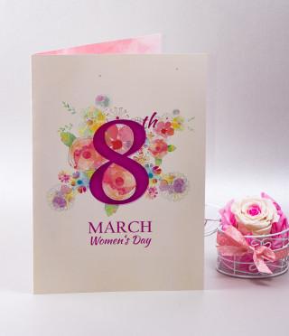 Eighth March card