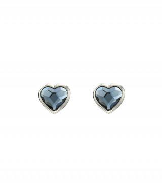 Обеци Love във формата на сърце