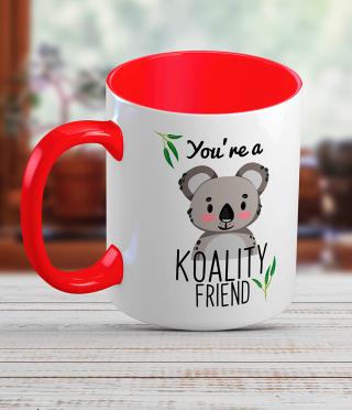 Ceramic Mug with Koala