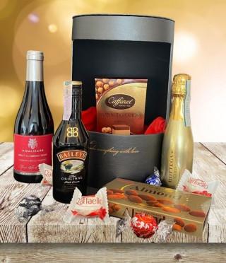 Подаръчна кутия с алкохолни изкушения
