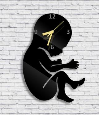 Стенен часовник Бебе