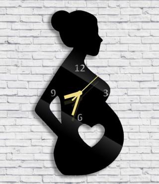 Стенен часовник Бременна жена