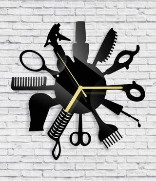 Стенен часовник Фризьор