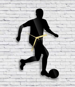 Стенен часовник Футболист