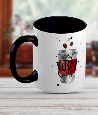 Керамична чаша Кафе