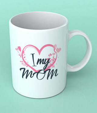 Керамична чаша I Love My Mom