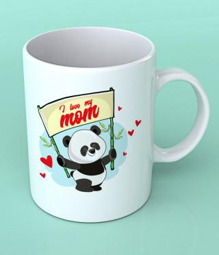 Чаша за майка с панда