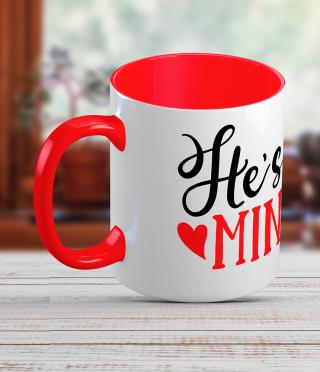Керамична чаша за него