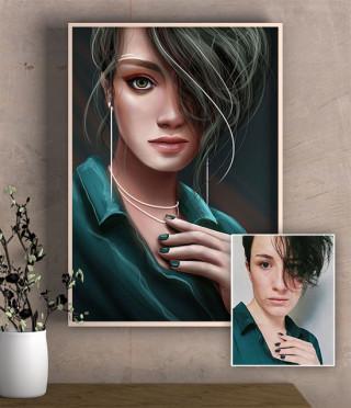 Дигитален портрет