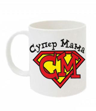 Чаша Супер мама