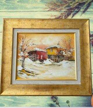 Картина Зимна приказка