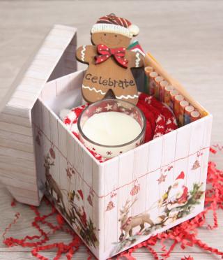 Подаръчен комплект Уютна Коледа