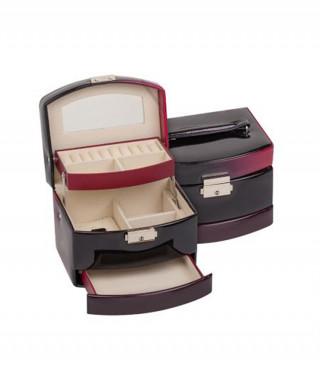 Кутия за бижута Burgundy средна