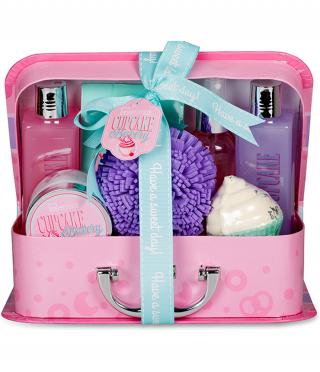 Луксозен подаръчен комплект Cupcake, 8 части