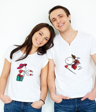 Тениски за влюбени Привличаш ме