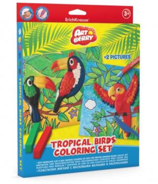 Комплект ТROPICAL BIRDS