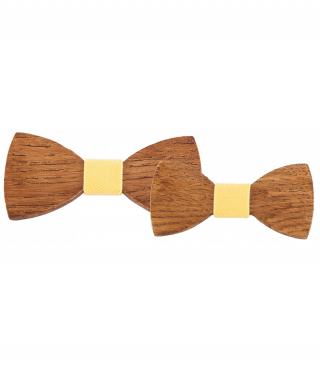 Tree bow ties for him and her