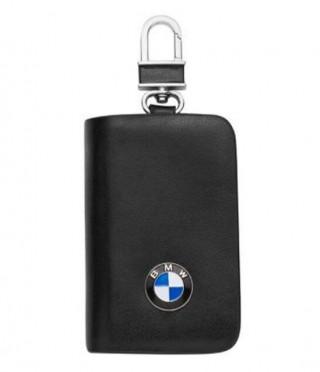 Ключодържател с лого на BMW - черен