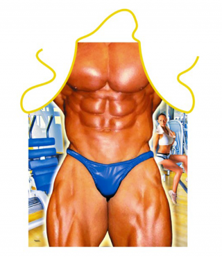 Apron Cooking Bodybuilder