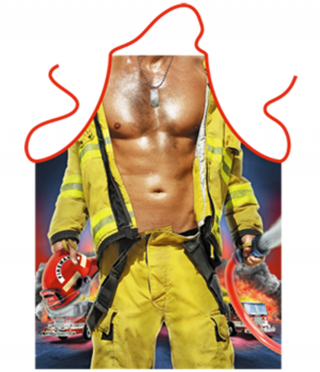 Apron for cooking Firefighter